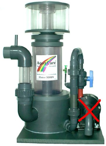 Skimmer ACF3000V with injector, max. 3000 litres