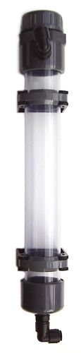 Magnesium Tube d50, wall mounting, for Turbo Chalk Reactor 1 + 2, PVC