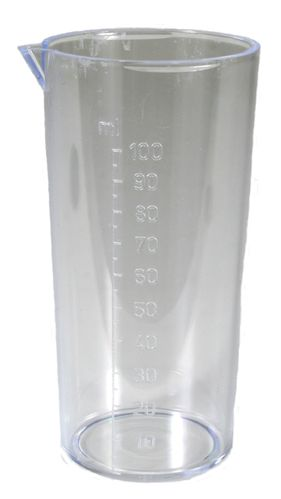 Measuring cup 100 ml for dosing fluids