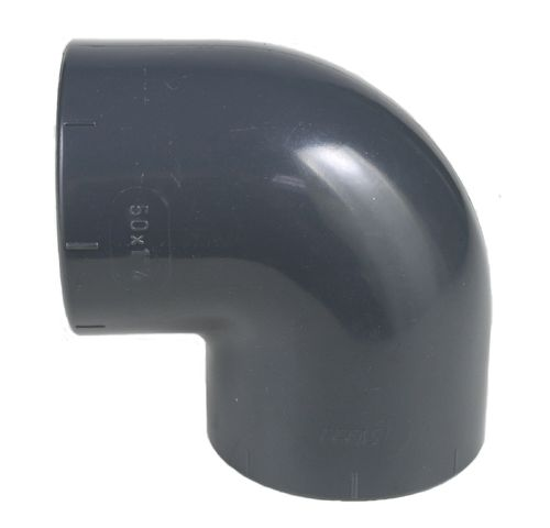 PVC fitting: elbow