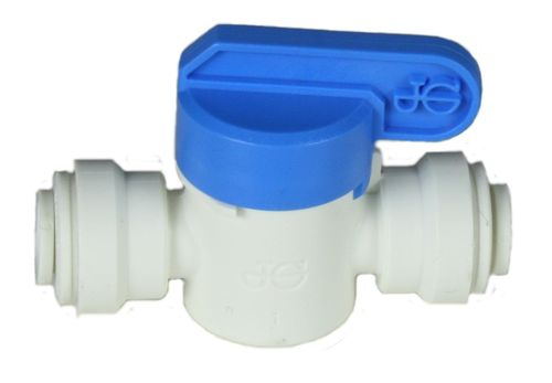 PP push fit fitting: ball valve - tube/tube