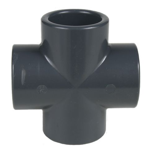 PVC fitting: cross