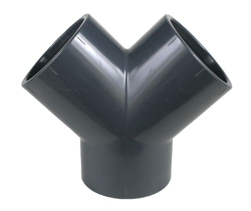 PVC fitting: Y piece